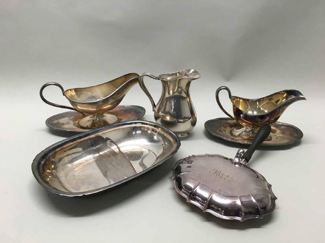 SILVERPLATED HOLLOWARE ARTICLES