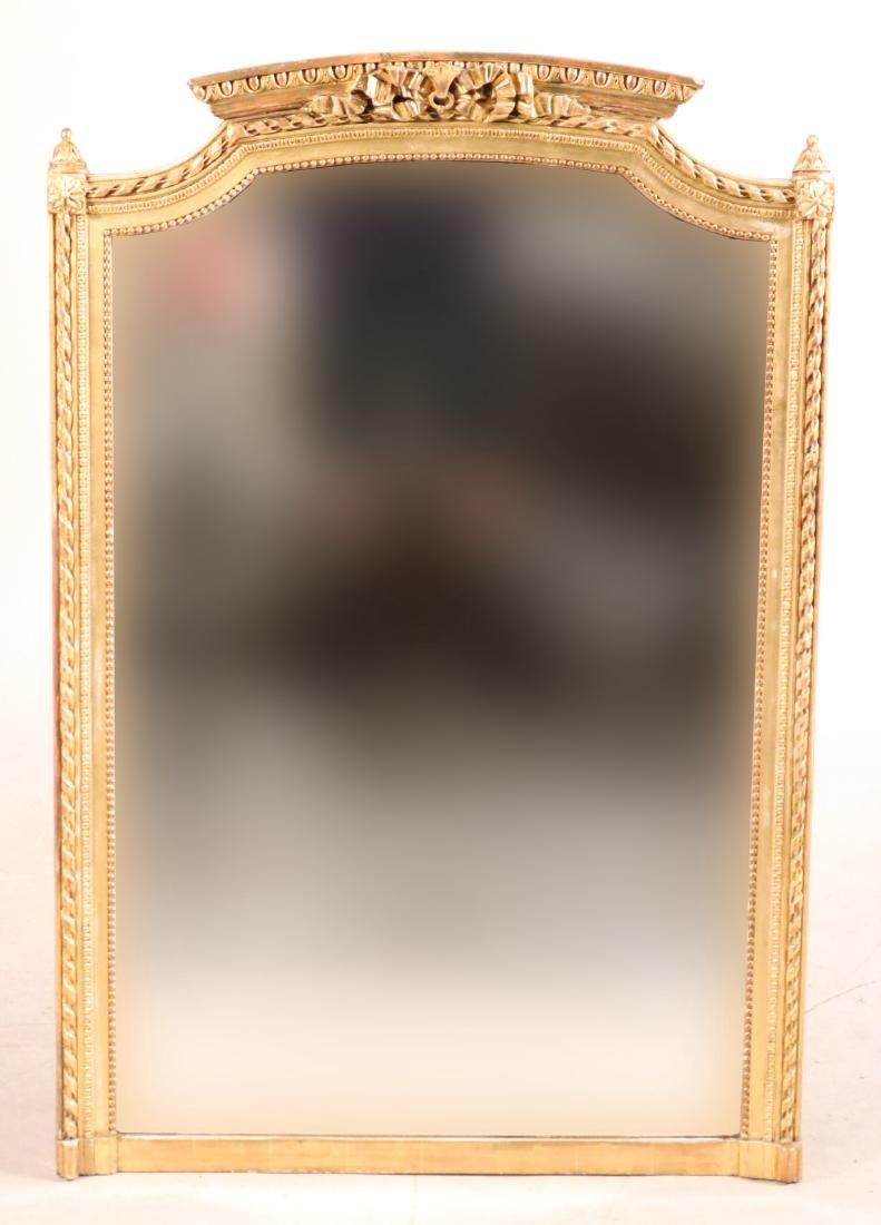 Louis XVI Style Giltwood Pier Mirror