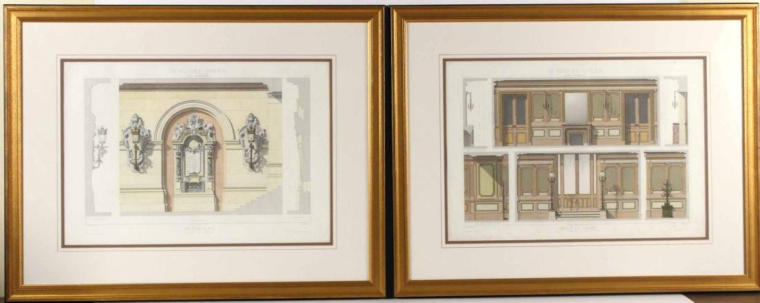 Two Architectural Lithographs