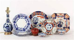 Group of Asian Porcelain Articles