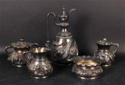 Five Wilcox Silver Plated Table Items