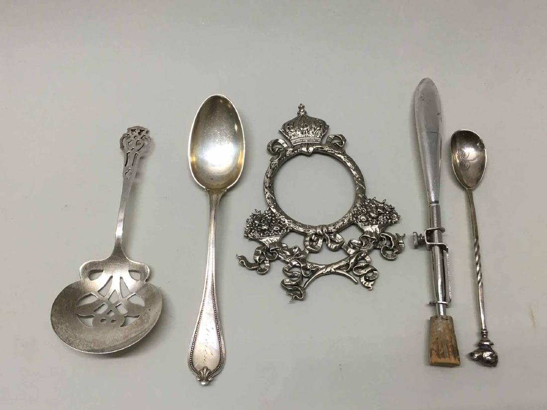 GROUP OF ASSORTED STERLING SILVER TABLE ARTICLES