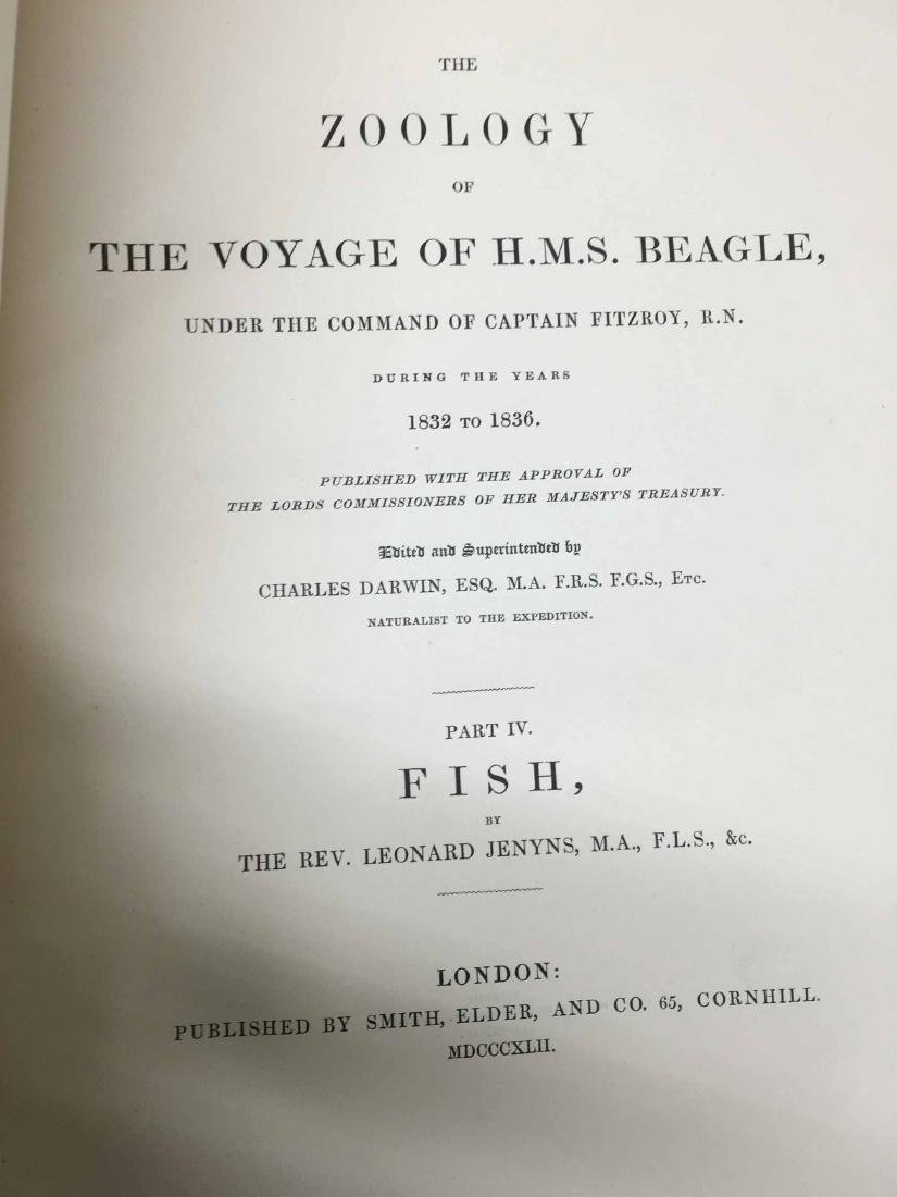 THE ZOOLOGY THE VOYAGE OF H.M.S. BEAGLE