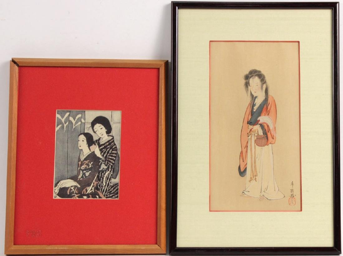GEISHA AND WARRIOR PRINTS