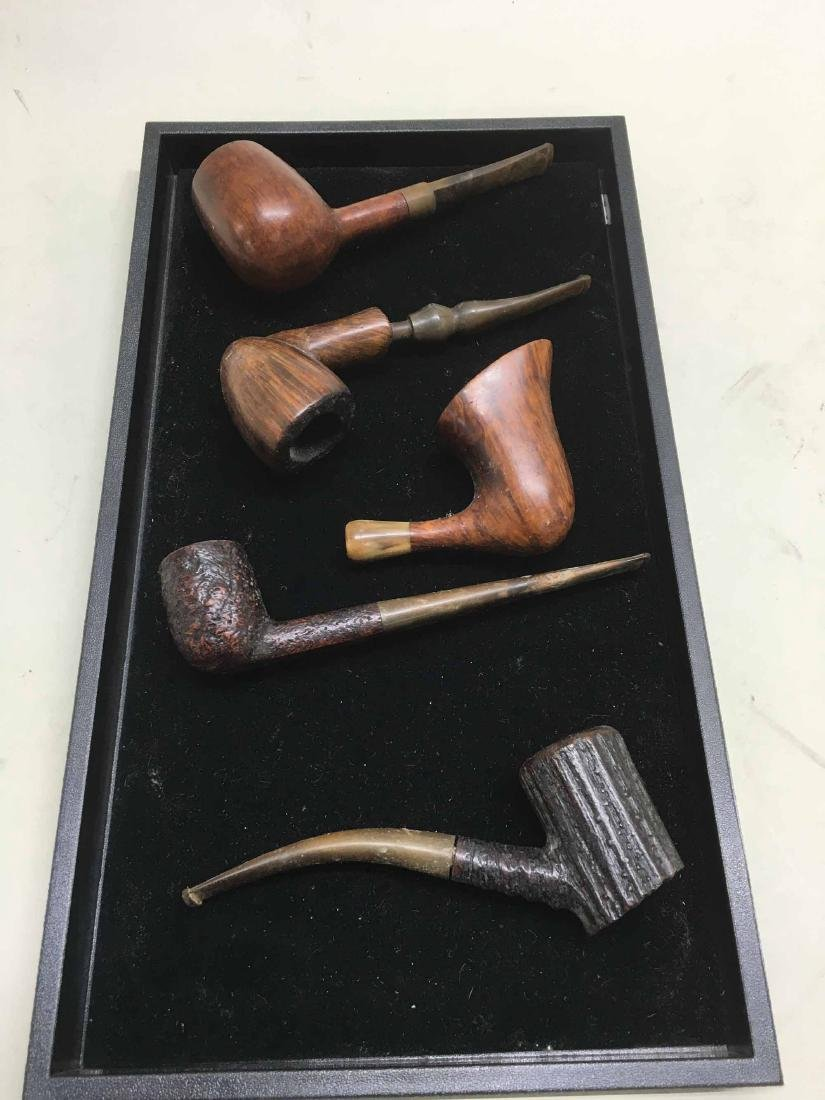 GROUP OF 5 ASSORTED SMOKING PIPES