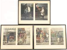 GROUP OF FOUR ASSORTED PRINTS