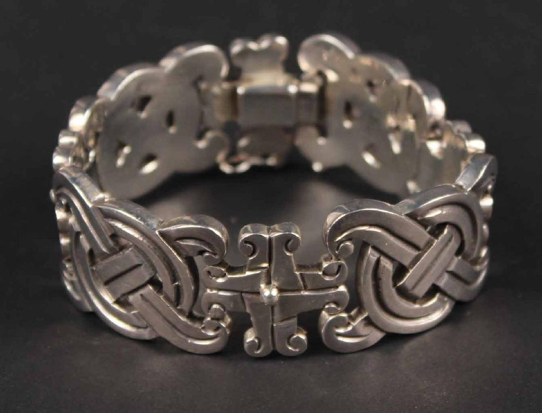 William Spratling Sterling Silver Link Bracelet