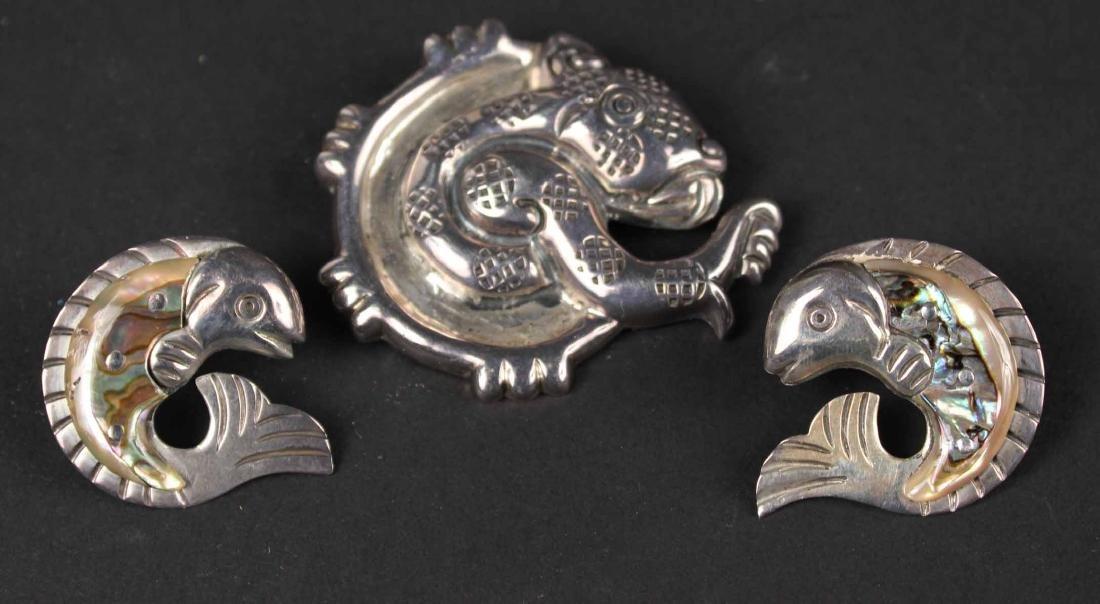 William Spratling Sterling Silver Animal Brooch