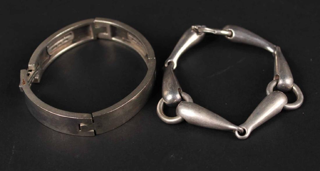 Kieslestein-Cord Sterling Silver Plaque Bracelet