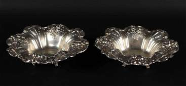 Pair of Reed & Barton Sterling Silver Bowls