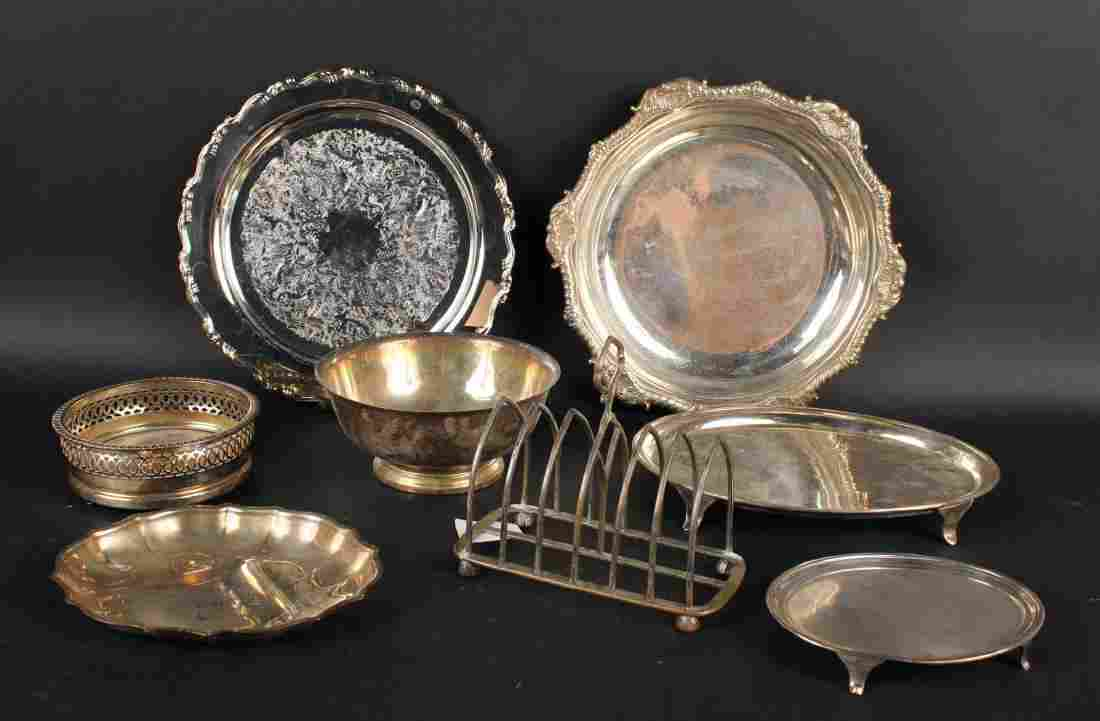 Assorted Group of Silver Plate