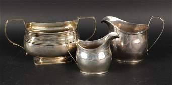 English Georgian Silver Sugar Bowl