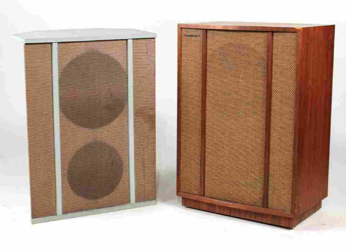 Two Tannoy Speakers