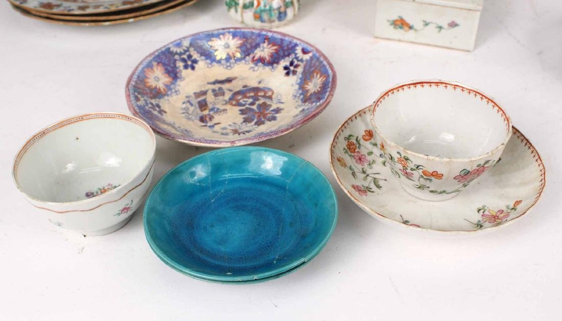 Chinese Export Bowls, Plates, and Platters, - 3
