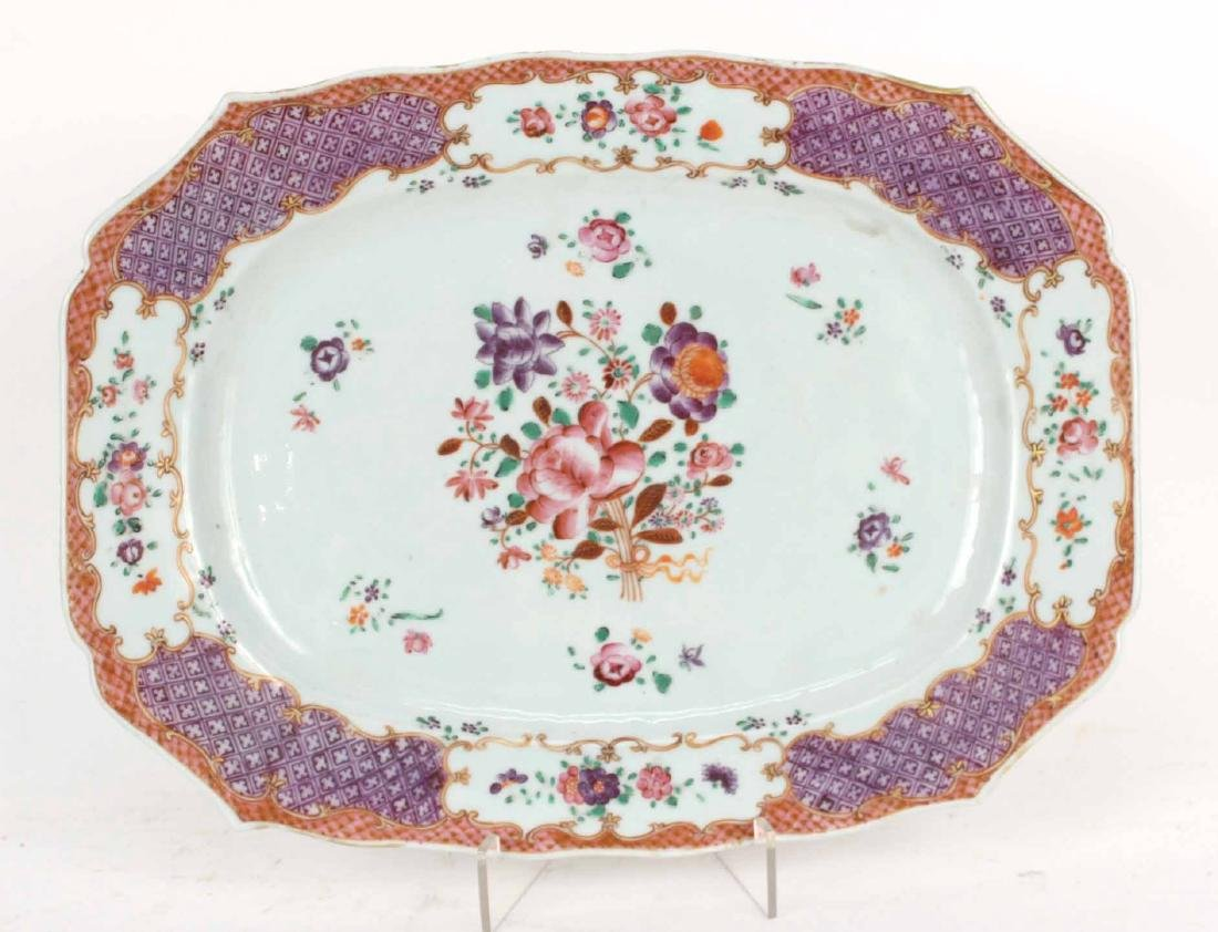 Chinese Export Bowls, Plates, and Platters, - 9