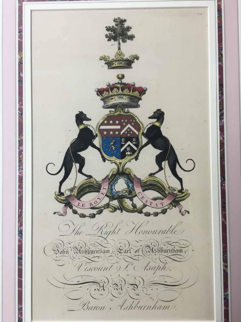 COLOR BOOK PLATE COAT OF ARMS