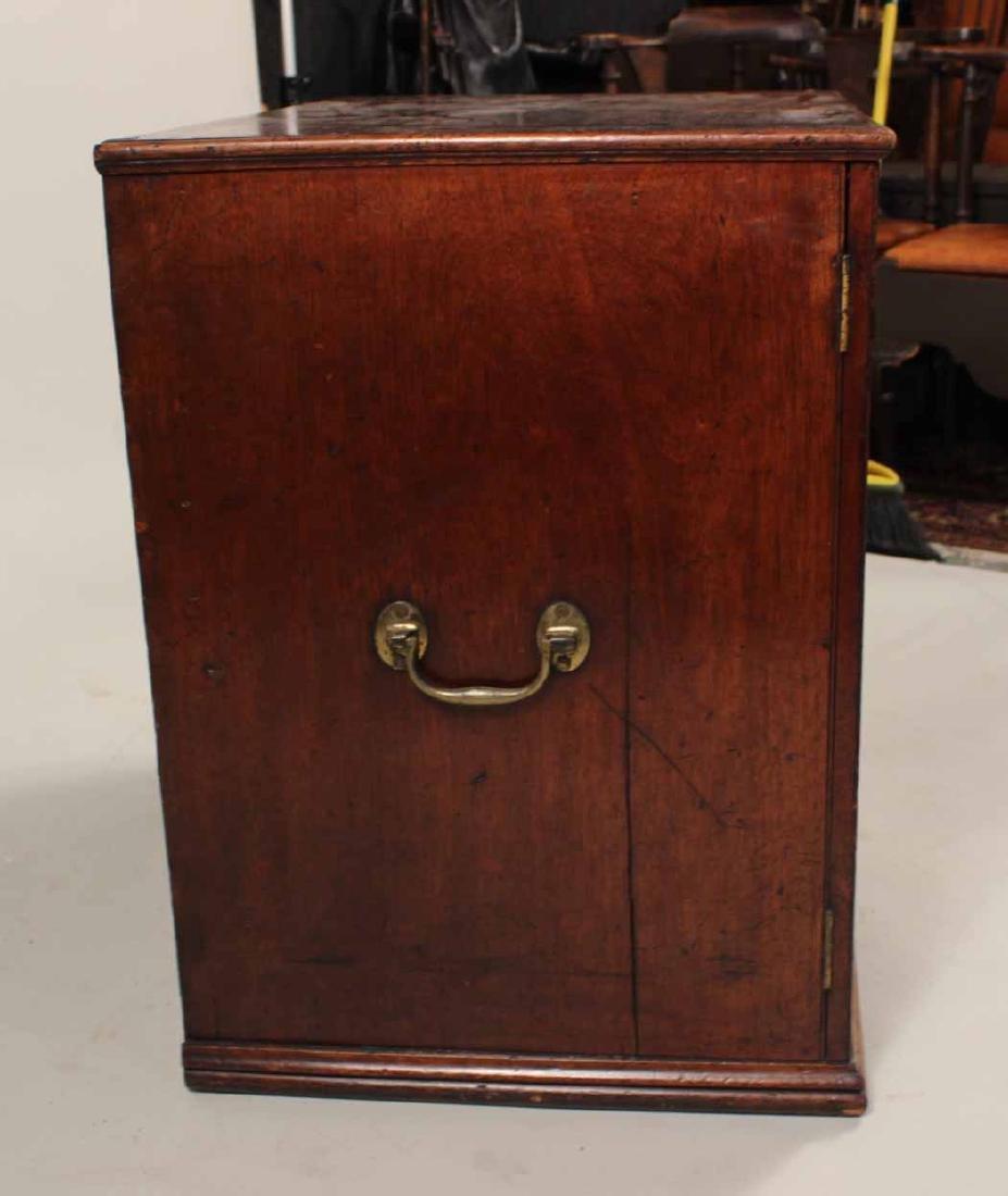 Regency Mahogany Collector's Cabinet - 2