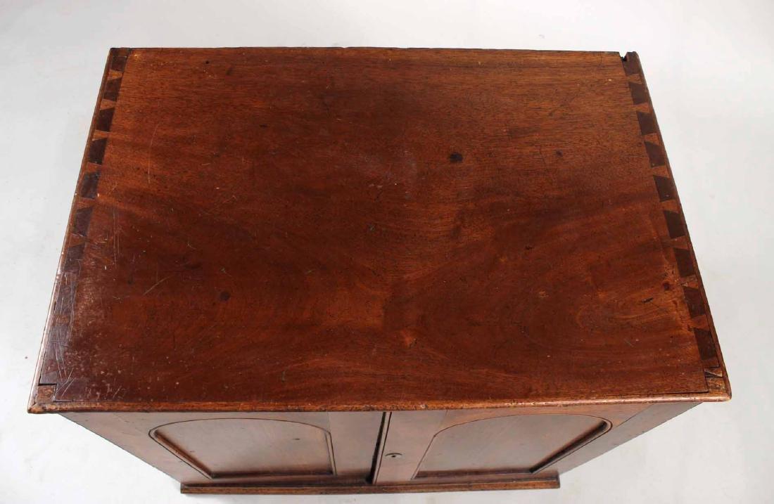 Regency Mahogany Collector's Cabinet - 3