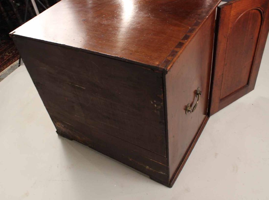Regency Mahogany Collector's Cabinet - 8