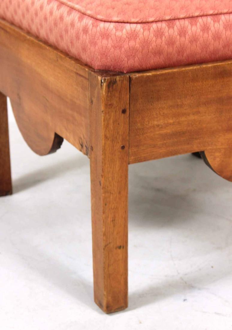 George III Style Mahogany Corner Chair - 2