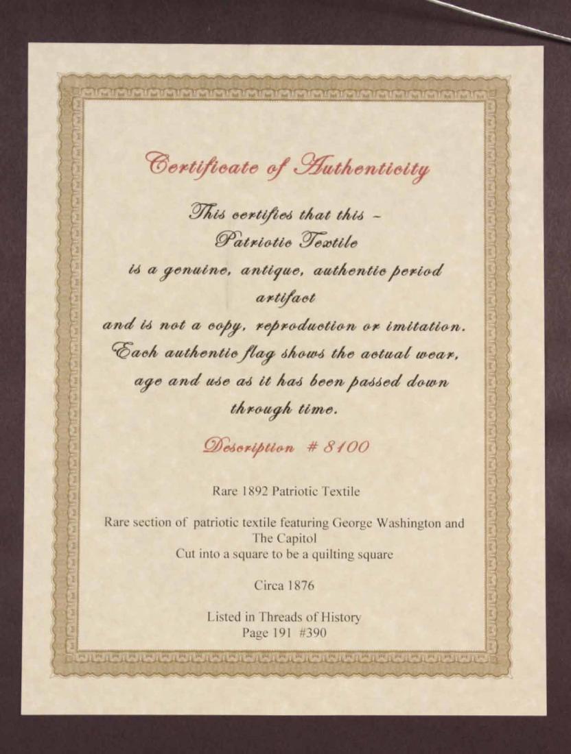Printed Cotton Patriotic Textile - 10