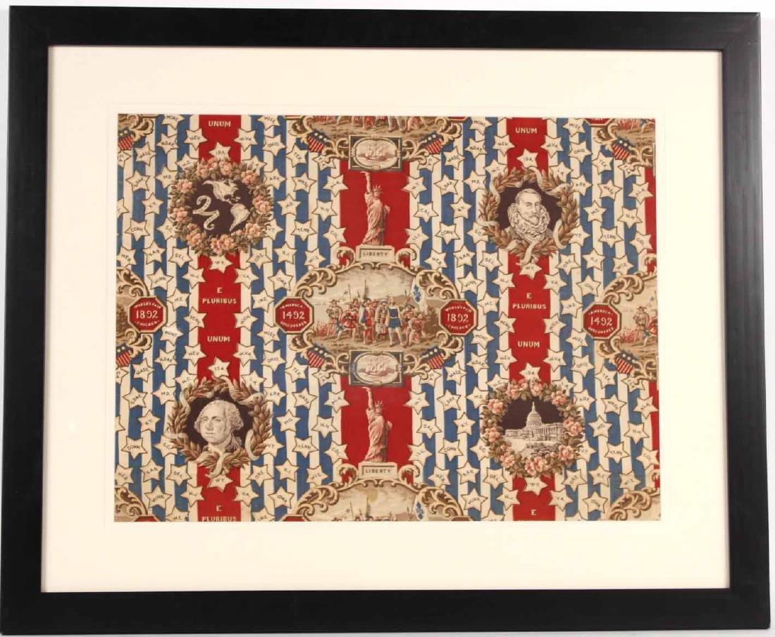 Printed Cotton Patriotic Textile