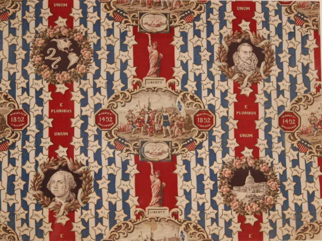 Printed Cotton Patriotic Textile - 2