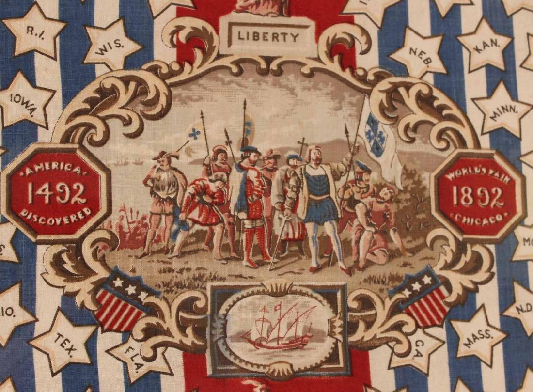 Printed Cotton Patriotic Textile - 3