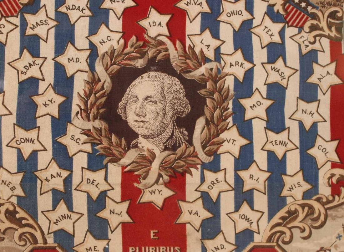 Printed Cotton Patriotic Textile - 5