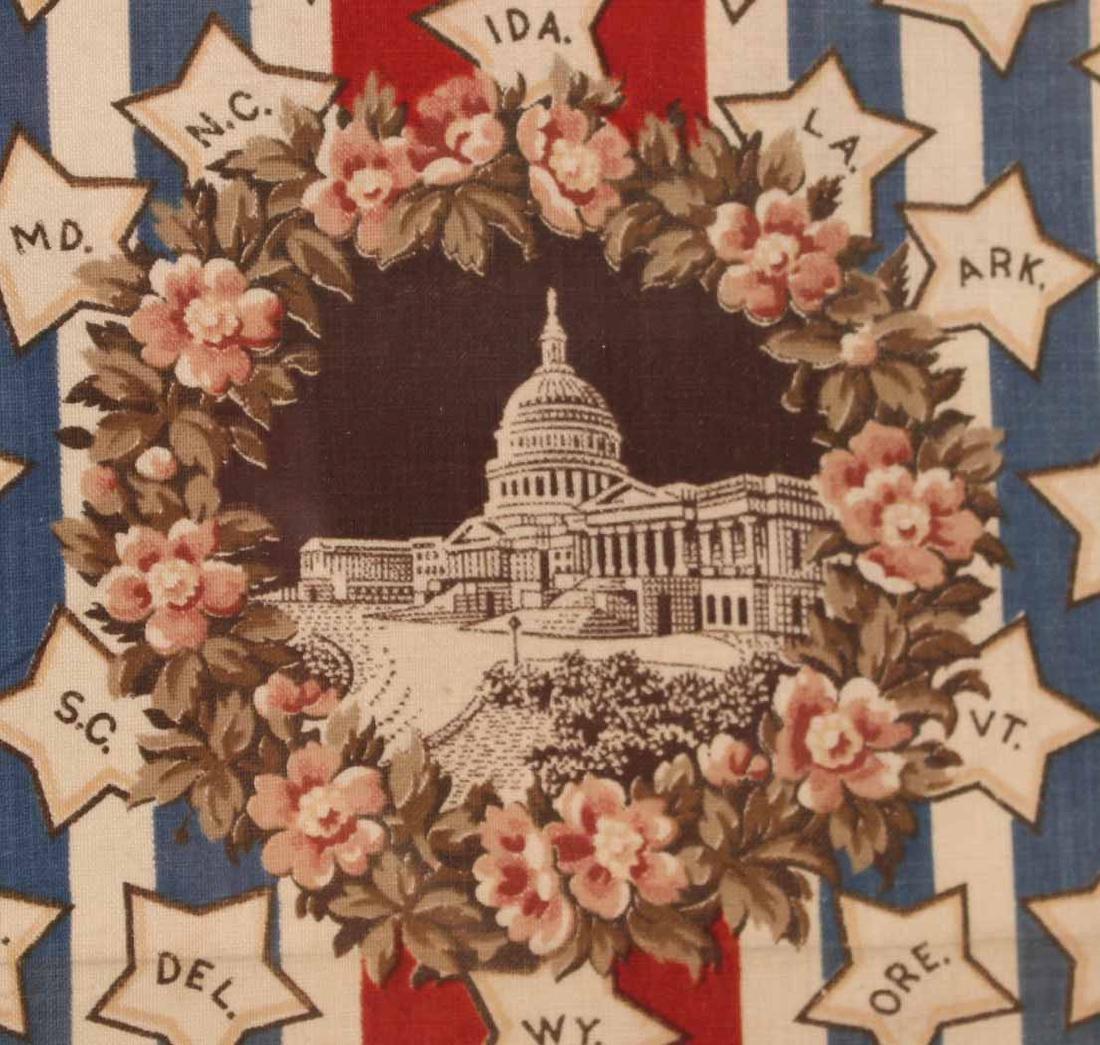 Printed Cotton Patriotic Textile - 7