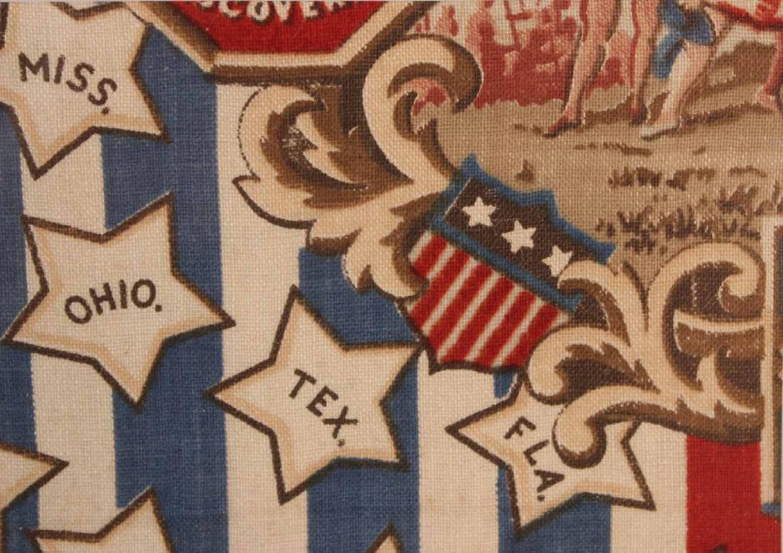 Printed Cotton Patriotic Textile - 8