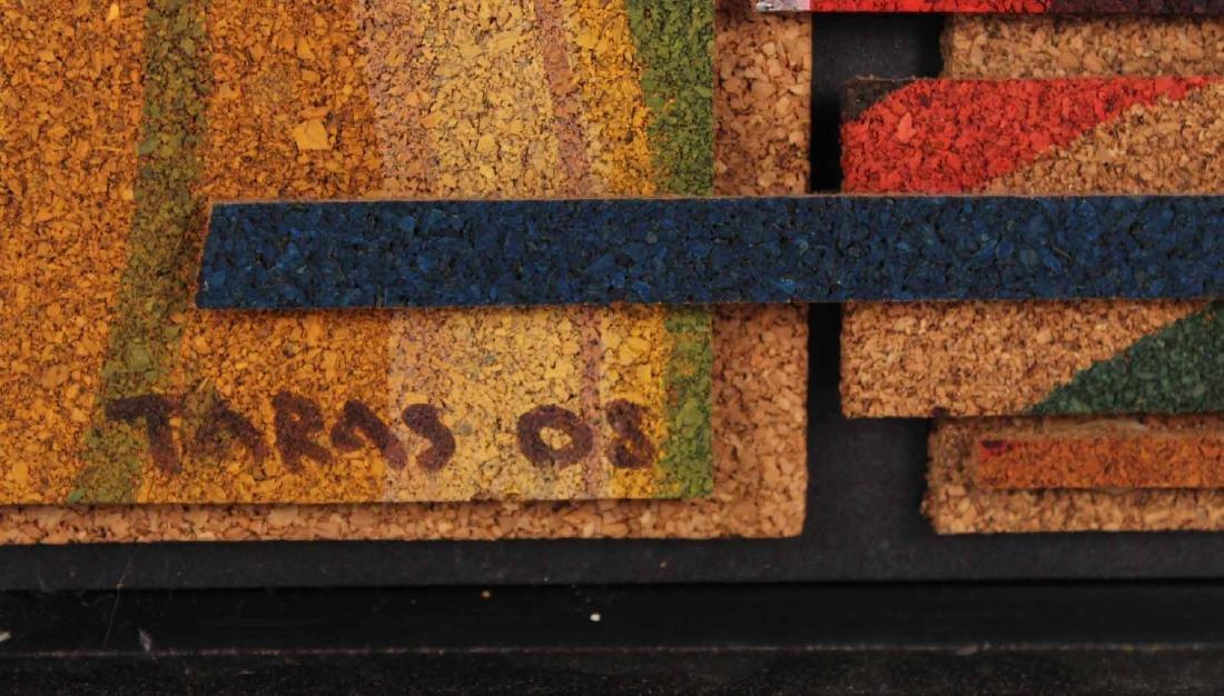 Acrylic on Cork, Abstract, Taras Borovyk - 3