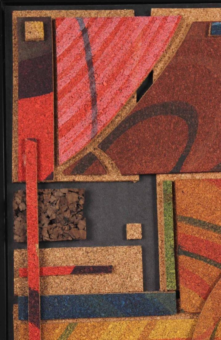 Acrylic on Cork, Abstract, Taras Borovyk - 4