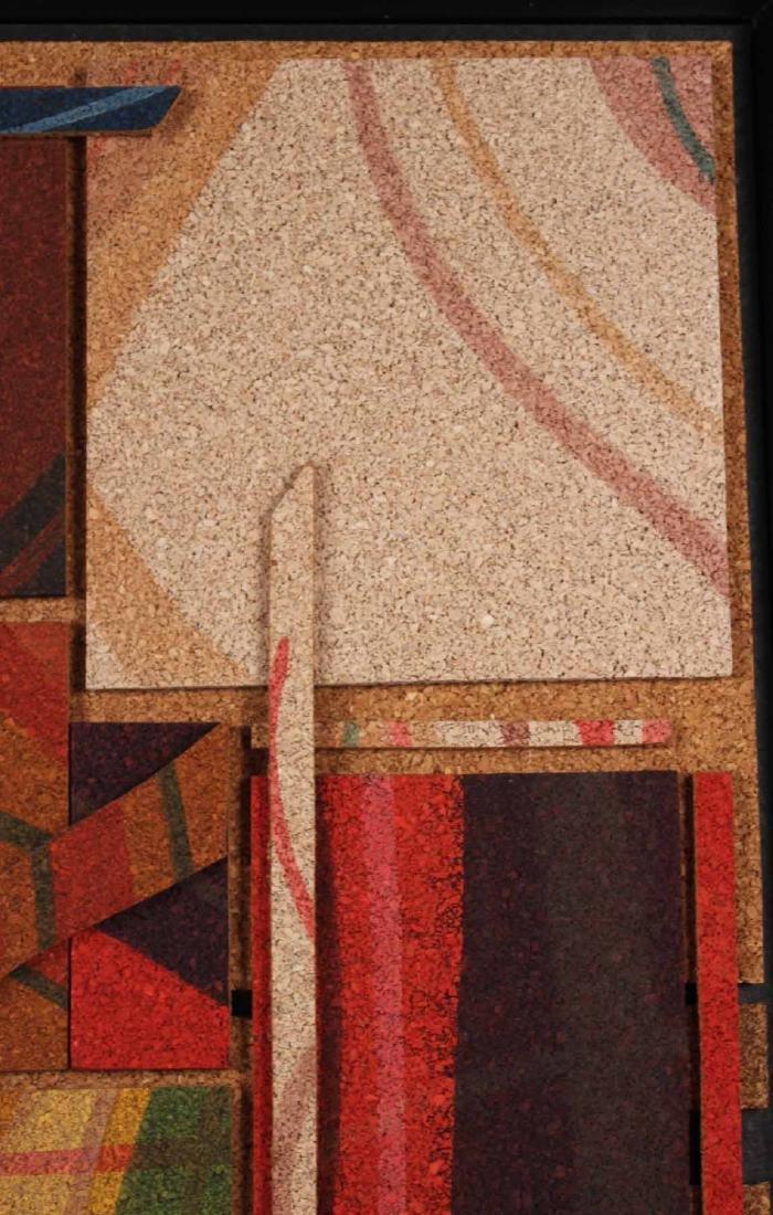 Acrylic on Cork, Abstract, Taras Borovyk - 5