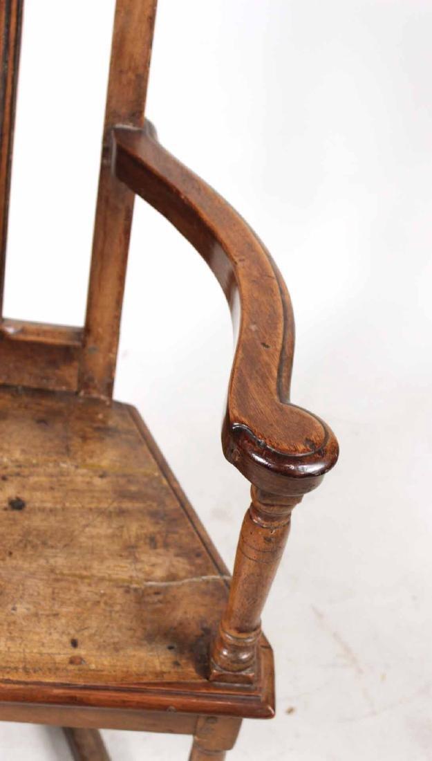 Provincial Walnut Armchair - 3