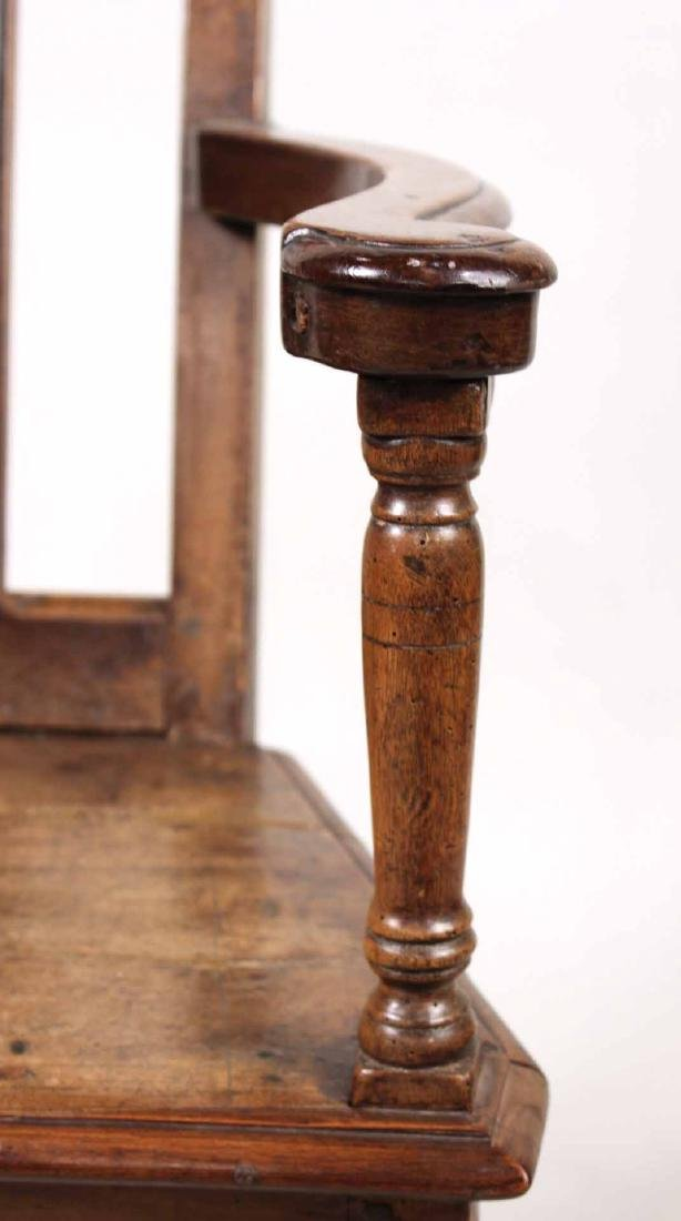 Provincial Walnut Armchair - 4