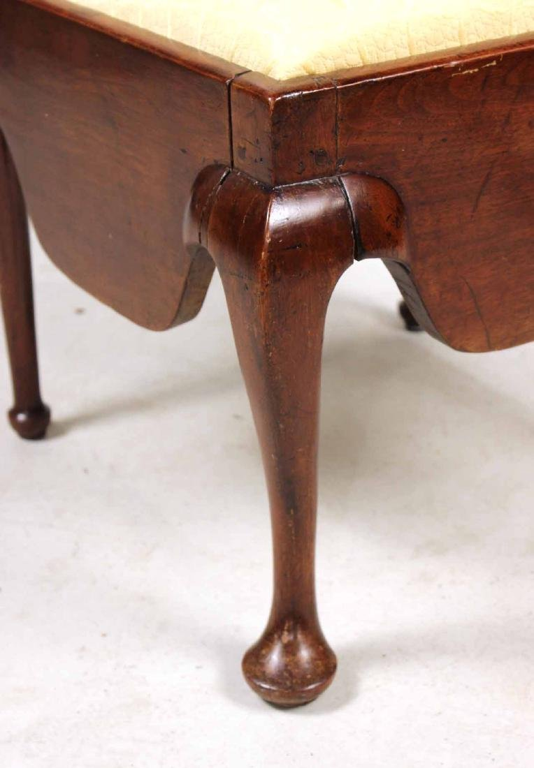 Queen Anne Mahogany Corner Commode Chair - 6