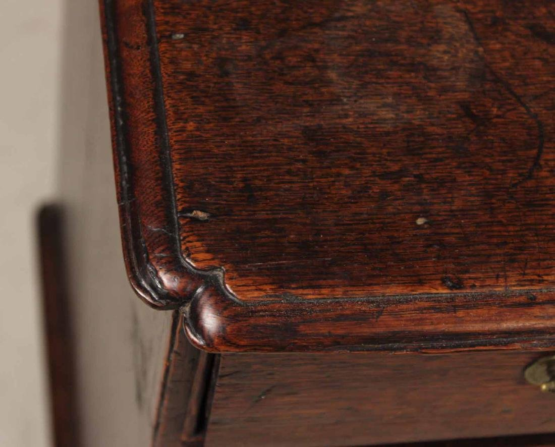 Queen Anne Oak Diminutive Chest of Drawers - 8