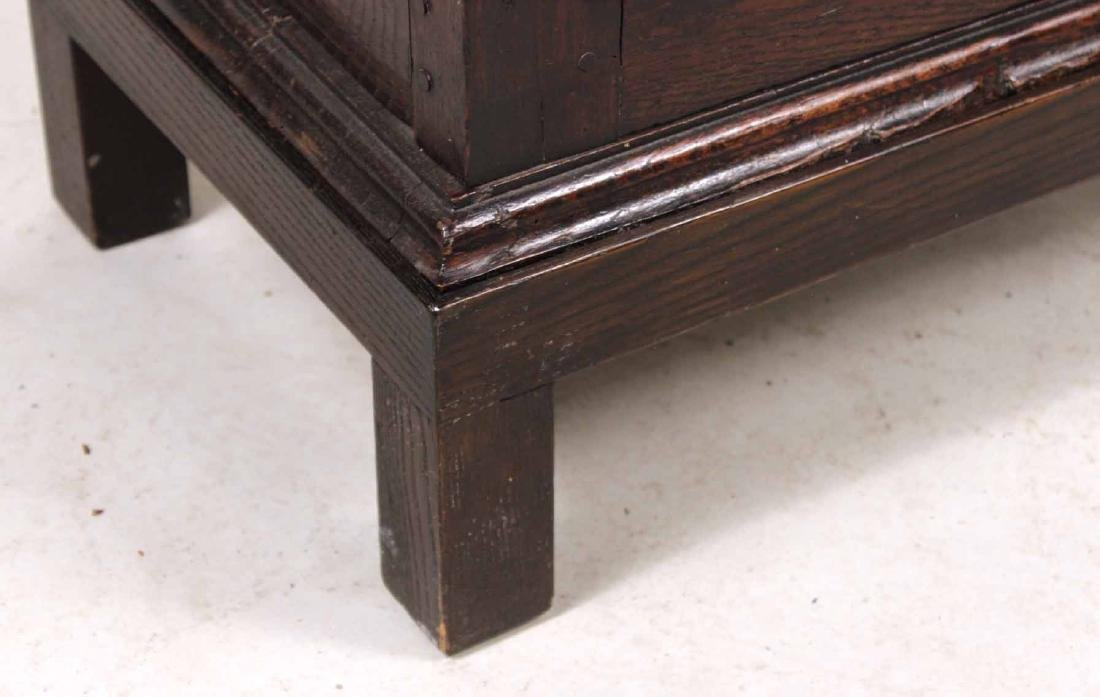 William and Mary Style Oak Hanging Cupboard - 2