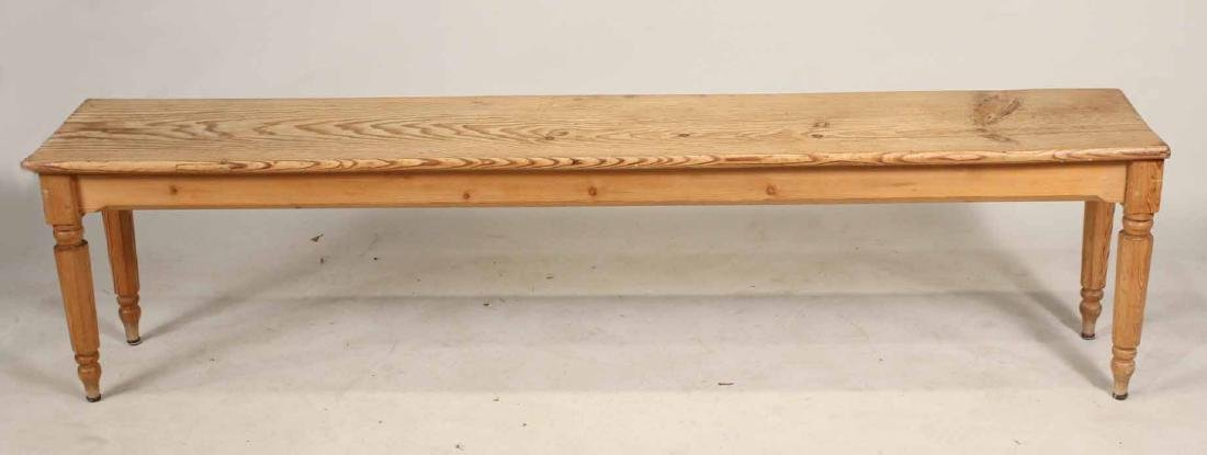 English Pine Long Bench