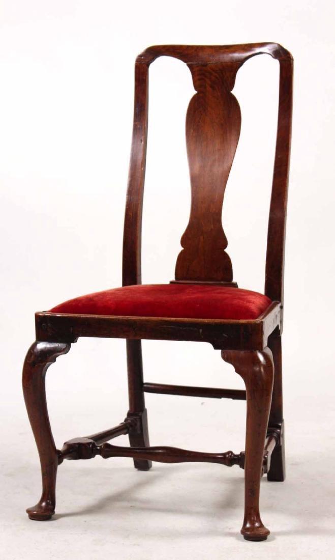George I Mahogany Side Chair
