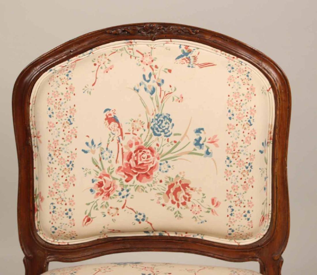Louis XV Carved Walnut Slipper Chair - 2