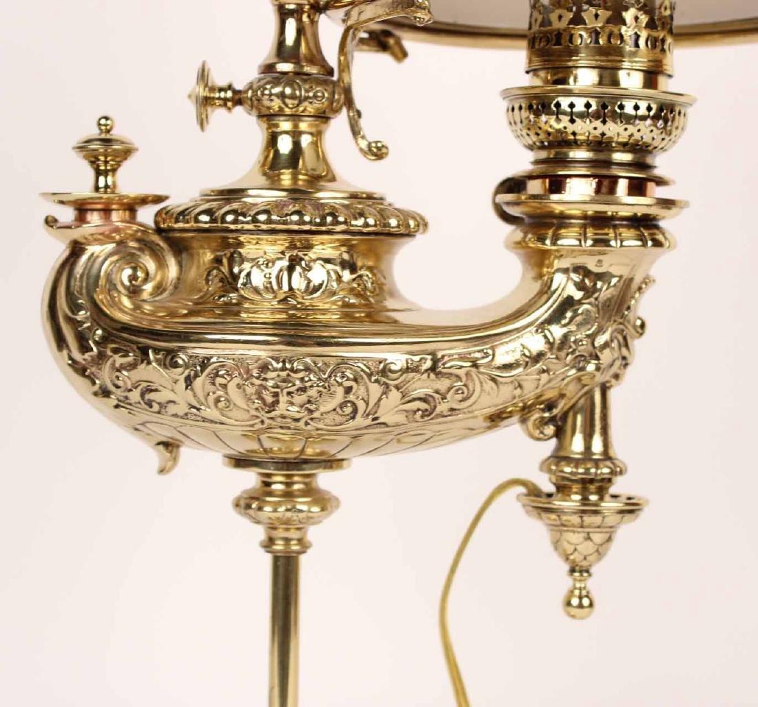 Gilt-Bronze Argand Lamp - 2