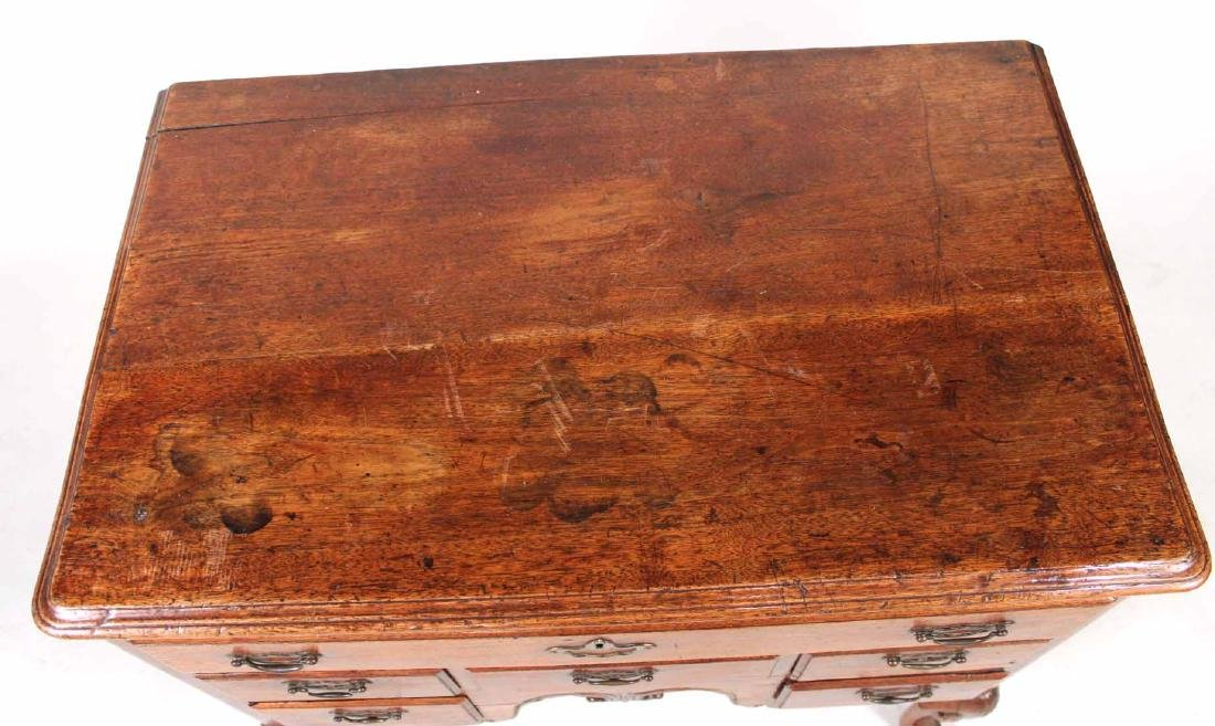 George II Walnut Lowboy - 8