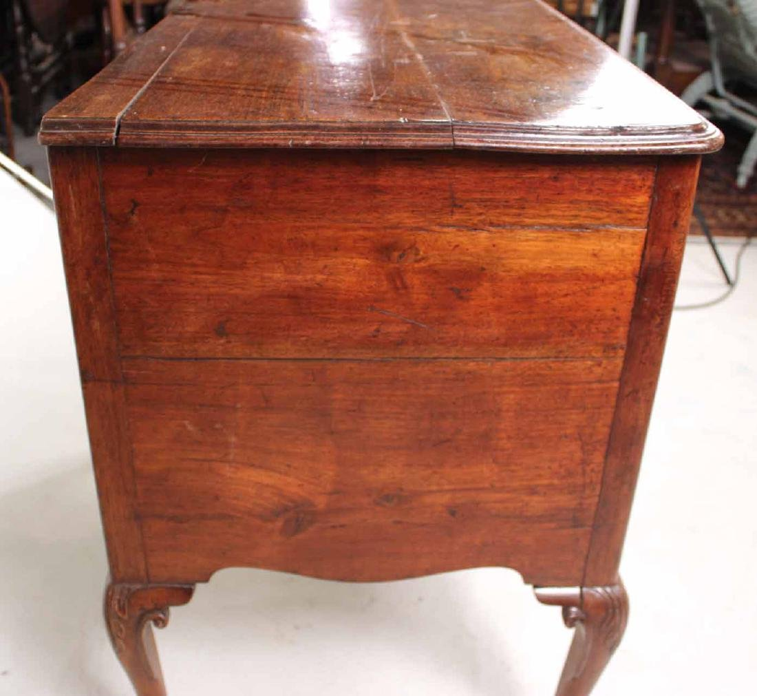 George II Walnut Lowboy - 9