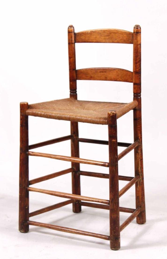 Ladderback Rush Seat Backstool