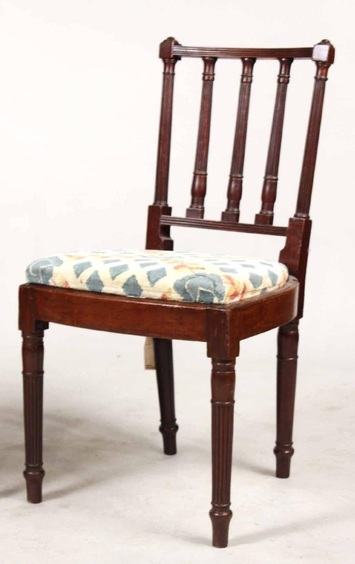 Pair of Federal Mahogany Side Chairs - 2