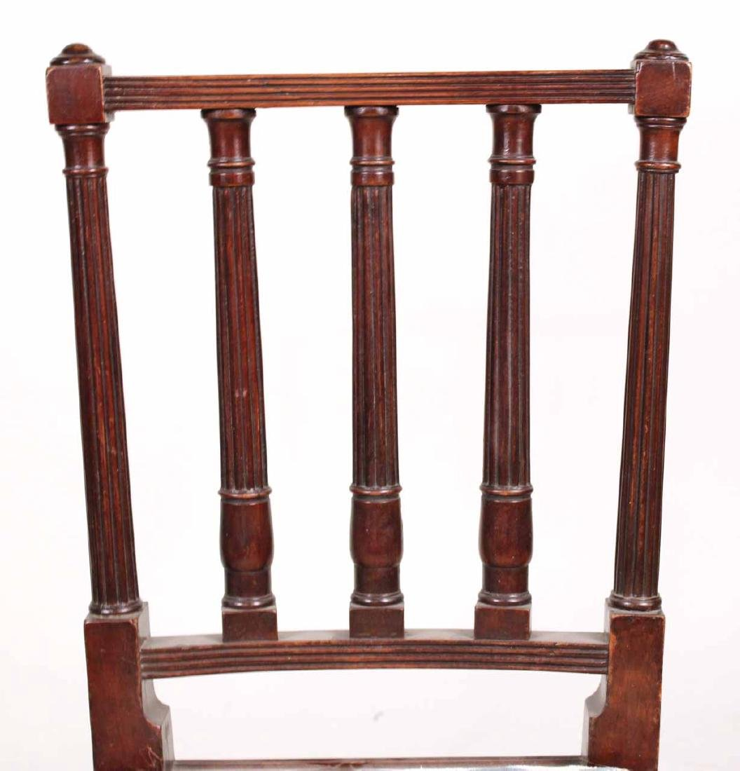 Pair of Federal Mahogany Side Chairs - 5