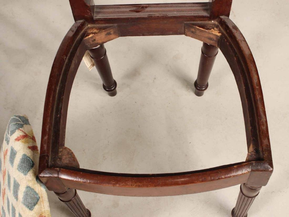 Pair of Federal Mahogany Side Chairs - 7