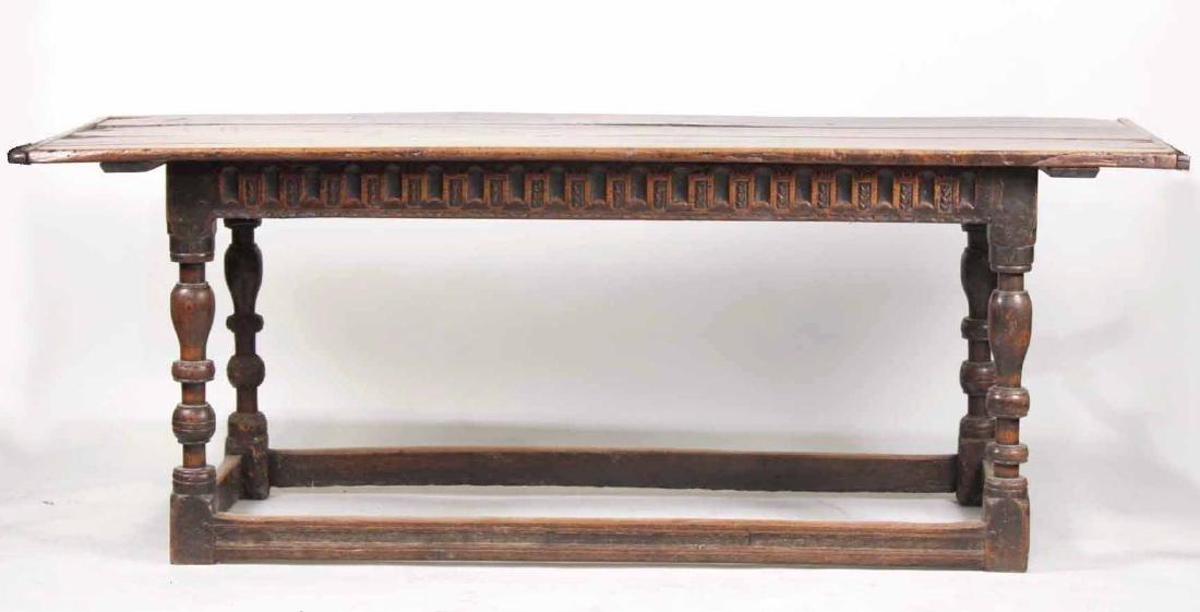 Jacobean Oak Refectory Table
